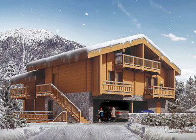 For sale; Exceptional freehold 3 bedroom duplex apartment with heated ski locker & private covered parking. This new-build duplex is part of a small luxury development situated just 150 m from the village center and 3 Valleys ski lifts. Benefit from reduced legal fees! 