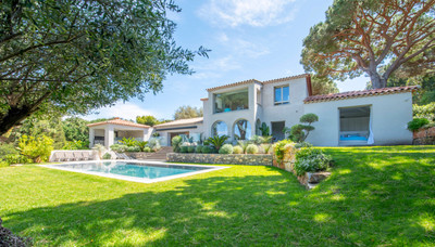 Saint-Tropez - Above Salins beach - Contemporary villa - 5 bedrooms -
