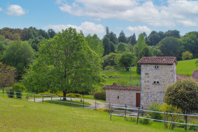 Rare 12 th Century Abbey restored to a high standard with 6 bedrooms, 3 bathrooms served by a central stone spiral staircase. Beautiful views, land and 2 stocked lakes.