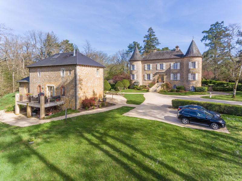 Chateau à vendre à Saint-Cybranet(24250) - Dordogne