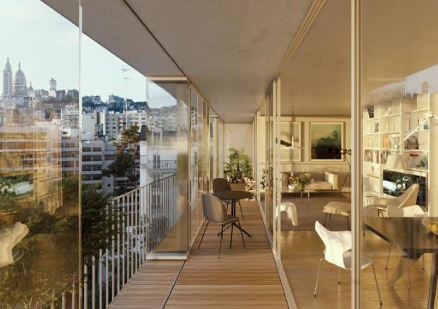 Appartement à vendre à Paris 18e Arrondissement, Paris - 775 000 € - photo 4