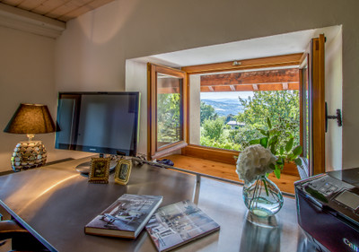 Copponex: Exceptional 5-bedroom farmhouse renovation. Design award finalist. Large home office. Stunning countryside setting just 26km from Geneva Airport.