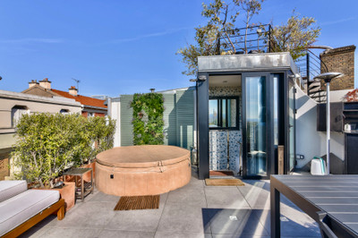 75019, Prestigious address on the butte Bergeyre, beautiful house of 117m2 impeccably renovated by architect