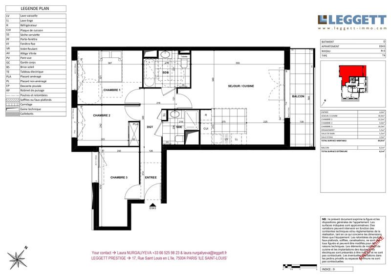 French property for sale in Clichy, Hauts de Seine - €599,000 - photo 3