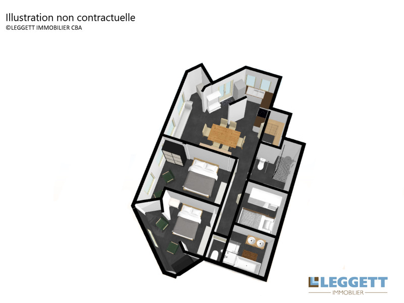 French property for sale in Les Avanchers-Valmorel, Savoie - €296,800 - photo 6