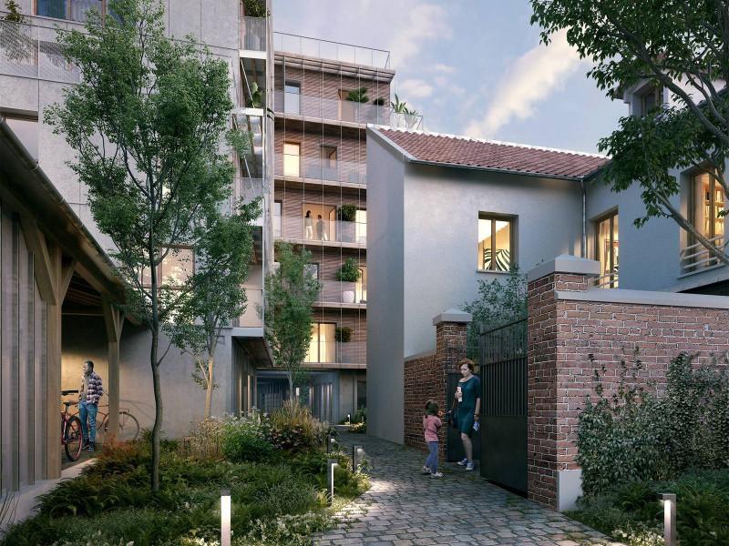 Appartement à vendre à Paris 20e Arrondissement, Paris - 890 000 € - photo 2