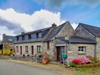 French property, houses and homes for sale in Berrien Finistère Brittany