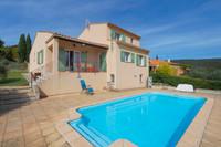 SAINT SATURNIN LES APT, Luberon - Au calme: jolie maison avec piscine, terrain clôturé et très belle vue.