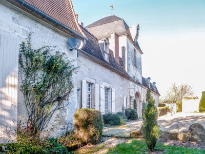 Beautiful Chateau dating from the XVII th century. Fabulous features, Gite, Swimming pool and two and a half acres of gardens.
