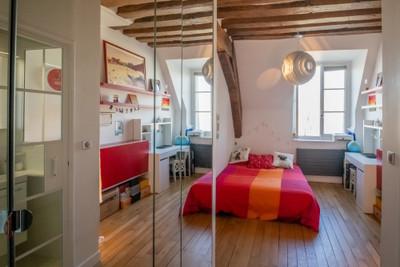 Paris 4, Prestigieuse adresse Ile St-Louis, très bel appartement avec terrasse arborée et vue sur Seine, 138m2