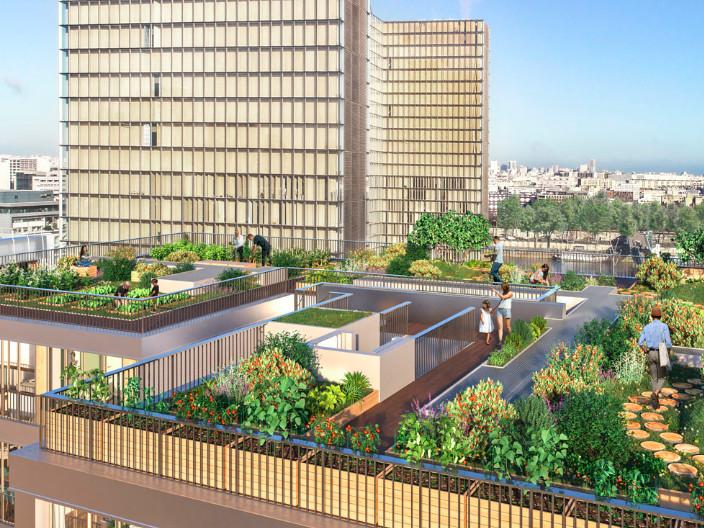 Appartement à vendre à Paris 13e Arrondissement, Paris - 2 290 000 € - photo 2
