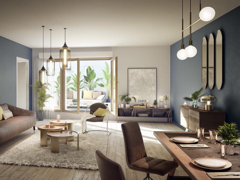 Appartement à vendre à Paris 20e Arrondissement, Paris - 309 000 € - photo 2