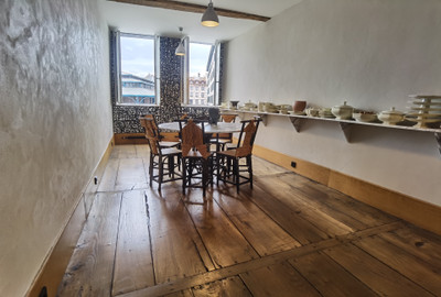 Remarkable designer's house in historic old Bayonne, immaculately restored.