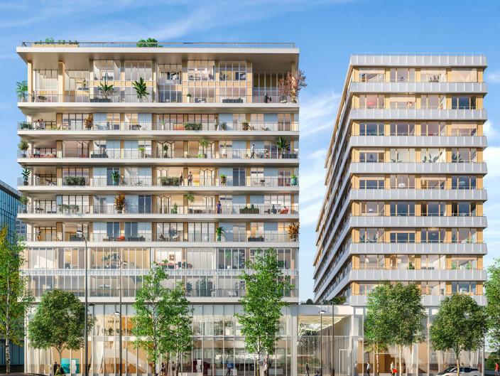 Appartement à vendre à Paris 13e Arrondissement, Paris - 528 000 € - photo 2
