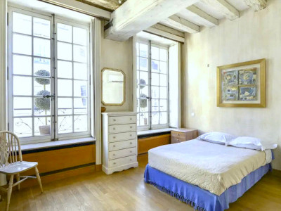 Paris 75005 Latin quarter, Hôtel Particulier,  8 bedrooms, 6 bath, 650 m² with courtyard and pool in basement