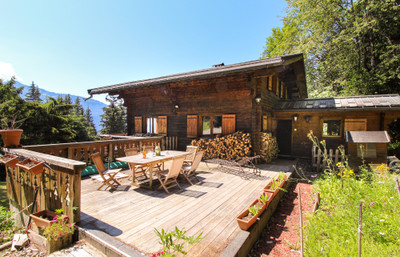 UNDER OFFER 5-bedroom chalet with independent 2-bedroom apartment for sale in Les Carroz, situated on 1600m2 of land with parking and stunning mountain views.Visit the Leggett website for exclusive 360 degree photos. A realtime video viewing can be arranged with your Leggett agent for anyone currently unable to travel