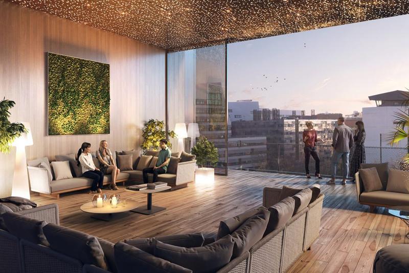 Appartement à vendre à Paris 13e Arrondissement, Paris - 1 360 000 € - photo 2