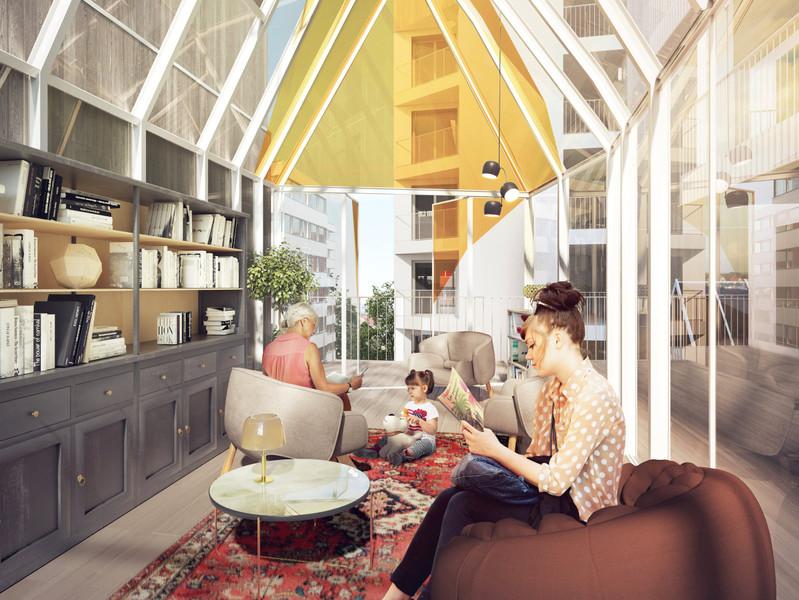 Appartement à vendre à Paris 13e Arrondissement, Paris - 986 100 € - photo 3