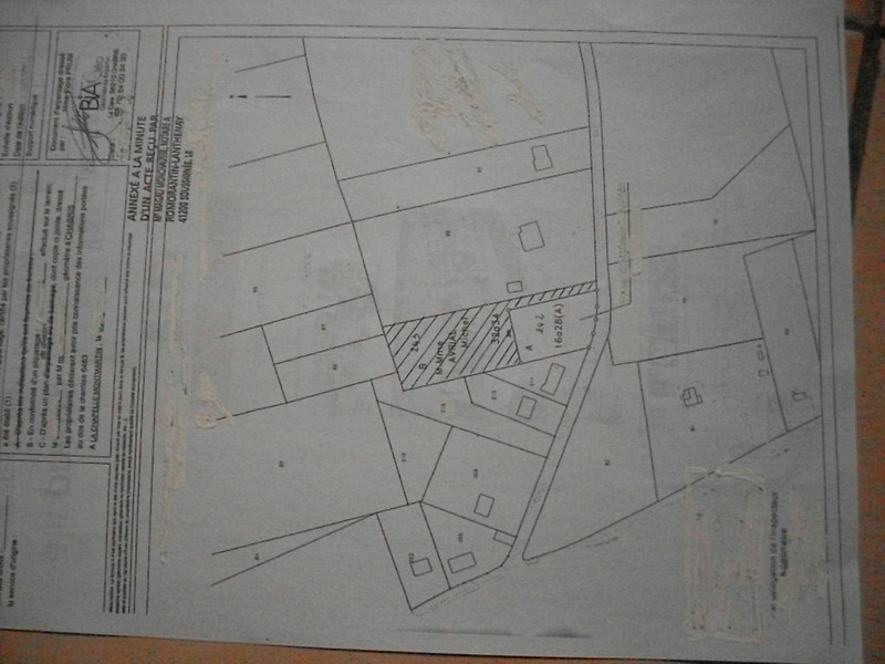 Terrain à vendre à La Chapelle-Montmartin, Loir-et-Cher - 31 600 € - photo 7