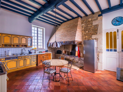 Classical 17th century castle - South of the Landes, New Aquitaine