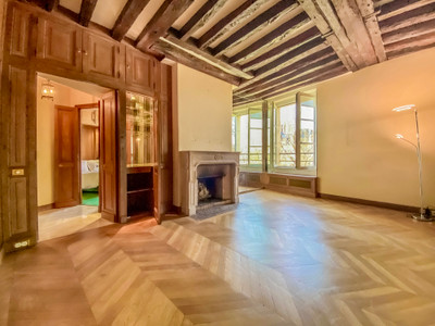 Paris 4, Exclusive, tip of Ile Saint Louis, One Bedroom property, 44m2, views on Seine and Notre Dame Towers