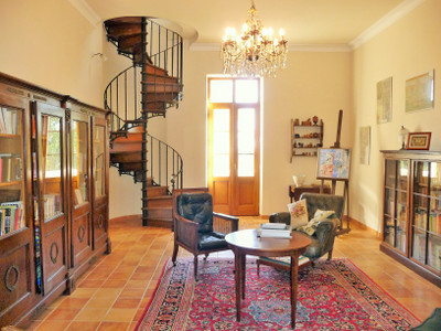 Stunning 19th century chateau close to Beziers and the Mediterranean beaches, set in its own Parc of 1.25 ha.