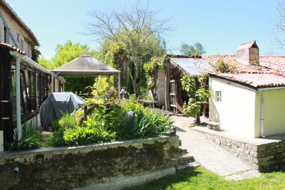 Historic former watermill, c 1760, 5 bed home pool and land. The property stands on its own in a quiet lane