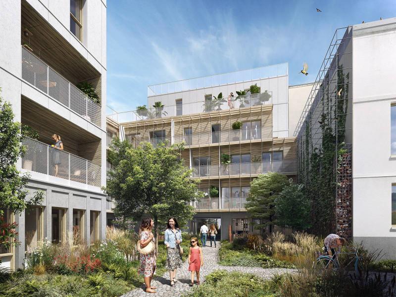 Appartement 1 pièce  à vendre à Paris 20e Arrondissement (75020) -  Paris