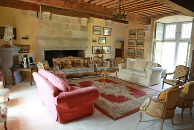 14th Century Chateau fort with 7 bedrooms, and almost 7 hectares of land near Brantome
