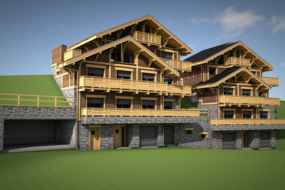 Best Value Luxury Chalet in Central Meribel - Only €10,400 per m2 – Everything you need and more !!