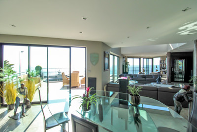 NORMANDIE SAINTE ADRESSE EXCEPTIONAL CONTEMPORARY VILLA OF 600 SQM  WITH PANORAMIC SEA VIEW