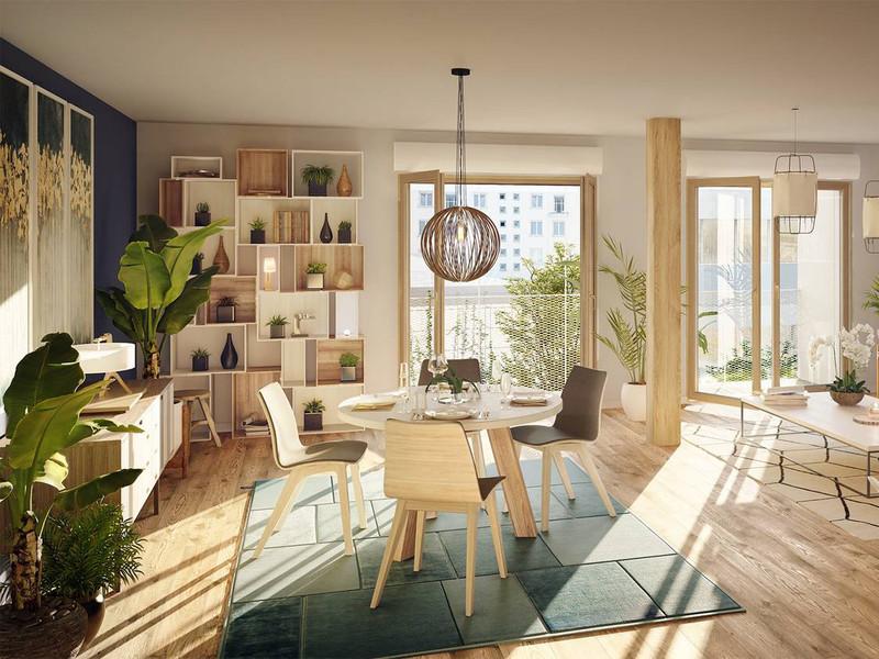 Appartement 4 pièces à vendre à Paris 20e Arrondissement (75020) -  Paris