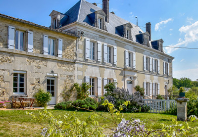 *** UNDER OFFER *** Stunning and elegant 5 bedroom period property, with well-proportioned rooms and many original features, which would make a superb family home or chambres d'hote. Beautifully renovated, and offering further scope to develop the outbuildings. Private gardens. Peaceful location but well placed for access to the Angouleme (14km).