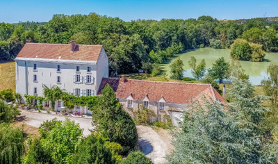 Water mill 5-bed with gîte 3-bed, fishing lake, beautiful garden, peaceful surroundings, nr.Montrichard, Loire Valley, Centre, 41.