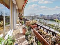 92100 Boulogne Rives de Seine bel appart traversant de 3/4P (T3) + balcon sud lumineux avec vue panoramique