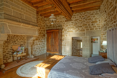 Splendid 16th century Breton manor house ISMH. 11 hectares, 5 gîtes, 4 stables, lake, heated swimming pool.