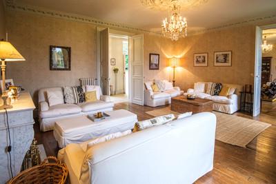 Château exquis avec maison de guardien, pigeonnier, piscine, vue imprenable, 3,9  hectares - Périgord Vert