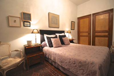 Elegant Maison de Maitre with garden, swimming pool, and barn, running as successful Bed and Breakfast in the busy town of Ille sur Tet.