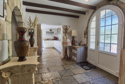 Beautifully renovated 18th century farmhouse in 1.8 hectares of woodland with lake on the banks of the Adour.