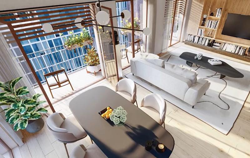 Appartement à vendre à Paris 13e Arrondissement, Paris - 1 029 200 € - photo 3
