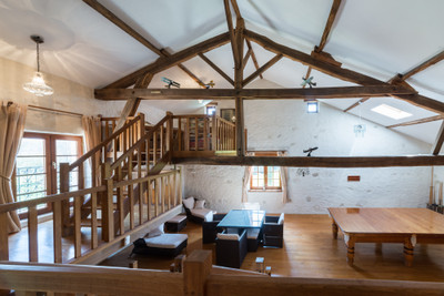 A fantastic conversion of an original French farmhouse and barn into 5 bedroom family home,