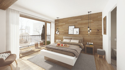 For sale; Superb opportunity to own your own brand new 1 bedroom + cabin ski apartment in Moriond Courchevel with direct links to the world's largest ski area, the 3 Valleys. Exceptional new-build small chalet-style residence. 