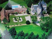 chateau for sale in Liorac-sur-LouyreDordogne Aquitaine