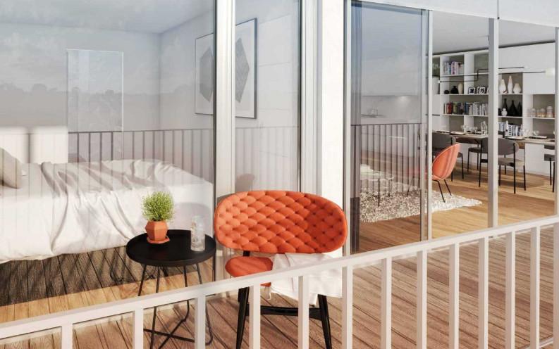 Appartement à vendre à Paris 18e Arrondissement, Paris - 775 000 € - photo 2