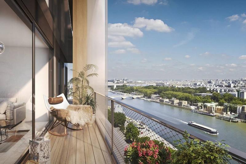 Appartement à vendre à Paris 13e Arrondissement, Paris - 1 360 000 € - photo 4