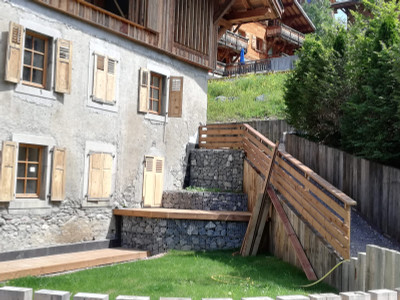Morzine Centre - Luxury 4 bedroom Duplex Apartment in a renovated Traditional Farmhouse from the 18th Century