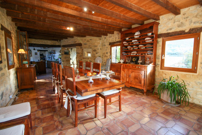 Provencal mas with pool, pretty and quiet surroundings, close to village