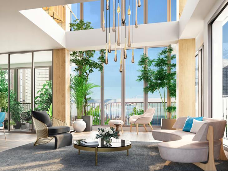Appartement à vendre à Paris 13e Arrondissement, Paris - 2 930 000 € - photo 2