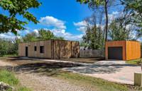 Maison écolo neuve de style 'loft' - avec garage et terrasse - cuisine à concevoir  - emplacement résidentiel