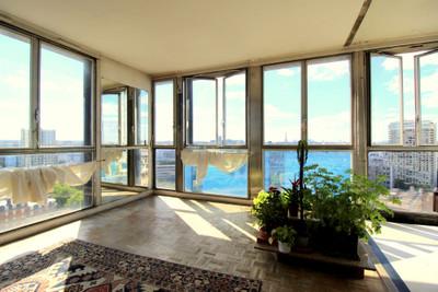 75013 Région de Gobelins. Vues à couper le souffle. Appartement 4 pièces de 97m2, besoin de rénovation.
